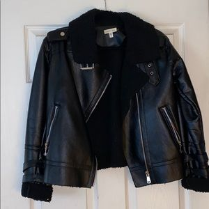 Leather jacket from urban outfitters.